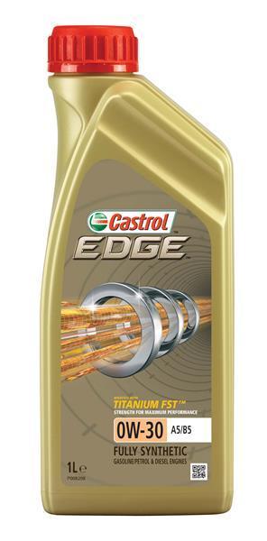 Моторное масло CASTROL EDGE 0W-30 1л  (CS 0W30 E A5/B5 1L)