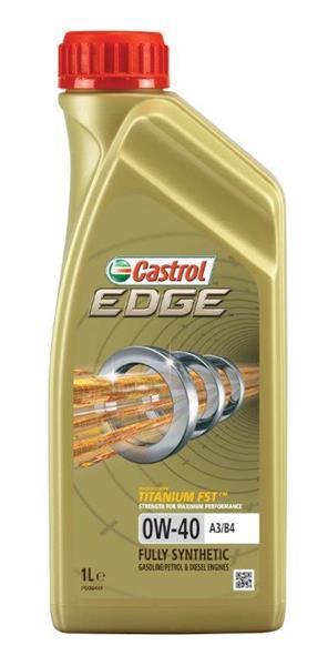 Моторное масло CASTROL  EDGE 0W-40 1л  (CS 0W40 E A3/B4 1L)