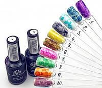 Акварельные капли для дизайна ногтей Global Fashion  в ассортименте
