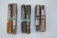 Метчик машинно-ручной М18х1 комплект из 2-х штук У10 внутризавод, фото 1
