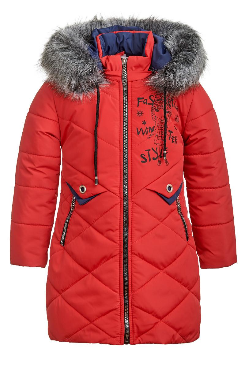 Зимняя куртка для девочки 5-8 лет от Ananasko 5422