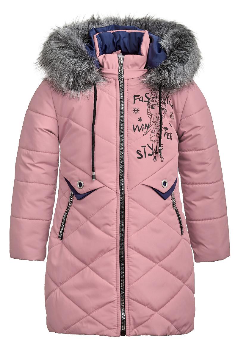 Зимняя куртка для девочки 6-9 лет от Ananasko 5423