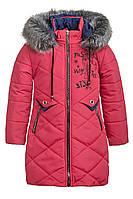 Зимняя куртка для девочки 6-9 лет от Ananasko 5424