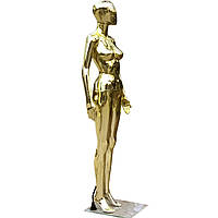 Манекен женский Аватар золотой