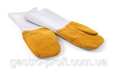 Рукавицы (перчатки) пекарские кожаные Hendi 556658