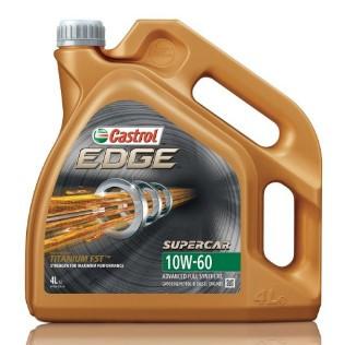 Моторное масло CASTROL  EDGE 10W-60 4л  (CS 10W60 E 4L)