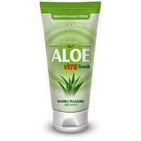 Массажный гель-лубрикант Aloe Vera Touch Gel 100 ml