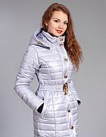 Зимняя женская молодежная куртка. Цвет лед.