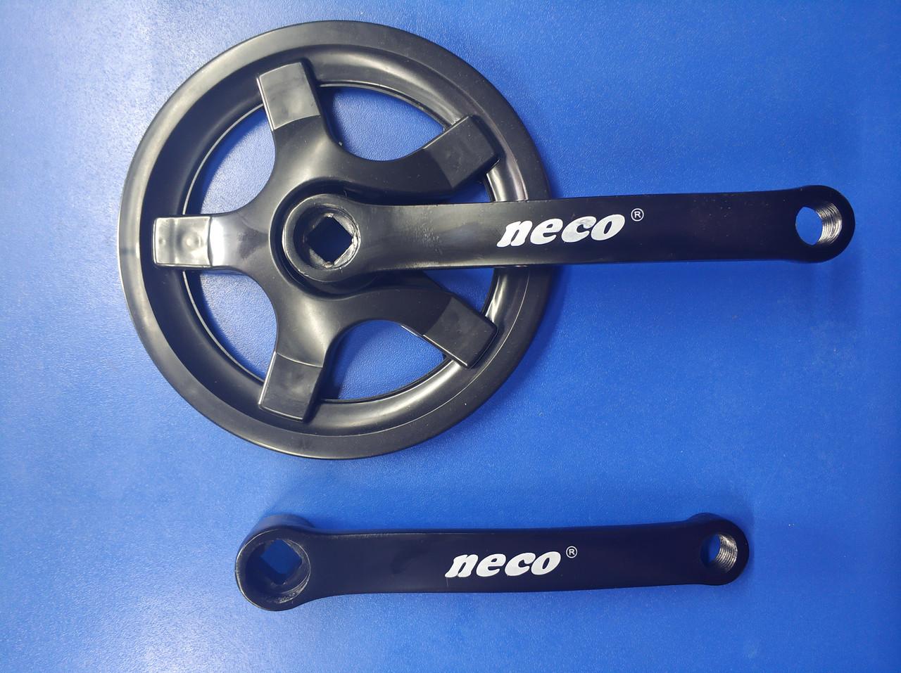 Шатуны велосипедные Neco NSS-1003 36T 152mm. черные (406838)