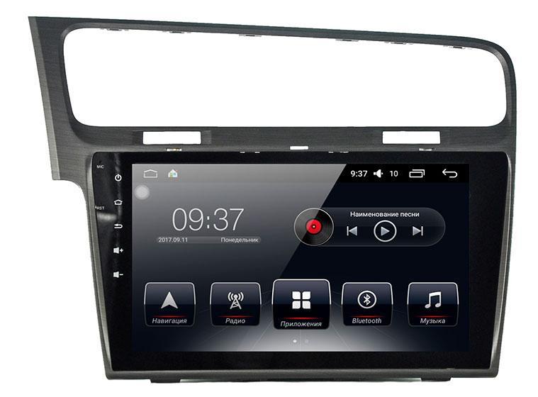 Штатная автомагнитола AudioSourceS T90-1050A для VW Golf 7 2013+