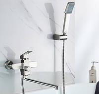 Смеситель для ванны с длинным изливом из нержавеющей стали (SUS304) SANTEP 547