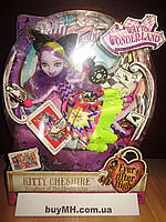 Кукла Китти Чешир Путь в страну чудес Ever After high Way Too Wonderland Kitty Chesire