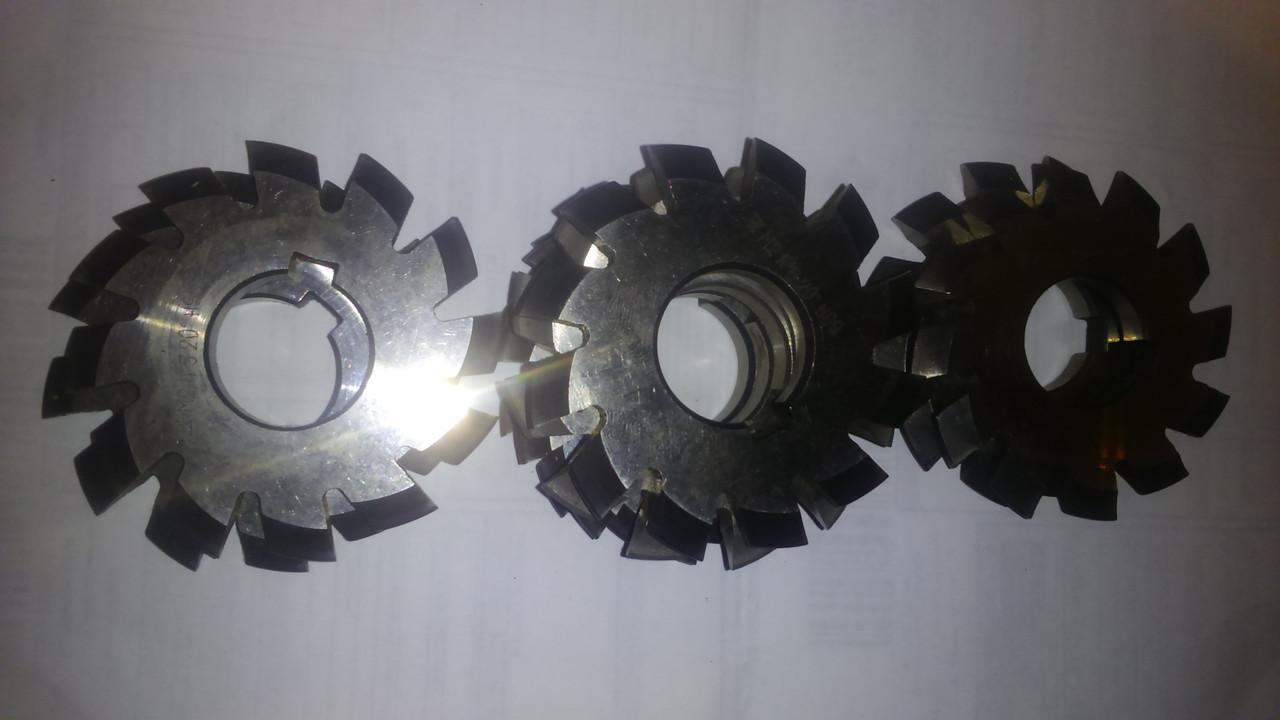 Фрезы  дисковые  m1; m1,25 ; m1,5 ;  m2 ;  m2,75;  комплекты из 8шт Р6М5 50х19х4,0  20°