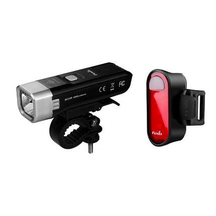 Комплект велосипедных фонарей Fenix BC25R + BC05R, фото 2