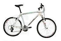 Велосипед Mascotte Celeste 26  v-brake бело-бирюзовый, фото 1