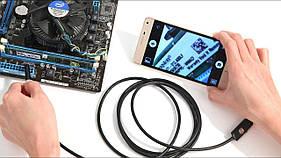 Эндоскоп видеоскоп HD водонепроницаемый  с камерой LED-подсветкой 1 до 10 метров USB