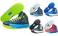 Баскетбольные кроссовки детские Jordan 1808 (обувь для баскетбола): 31-36 размер (5 цветов)