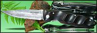 Складной нож Mcusta MC-13D Damascus Basic Folder African Ebony Wood