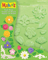 Makins Формочки для литья Цветы и Листья