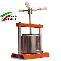 Соковитискач OMAC 360 Torchietto ручної гвинтовий домашній прес для віджиму соку, масла, сиру, Італія