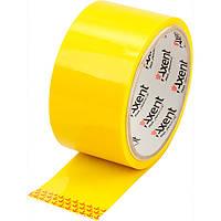 Скотч упаковочный Axent 48 мм x 38 ярдов x 40 мкм жёлтый