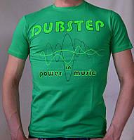 """Мужская футболка """"DUBSTEP"""", фото 1"""