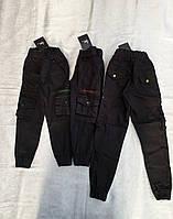 Стильные черные котоновые ДЖОГГЕРЫ для мальчиков 92,98,104,110,116 роста