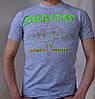 """Мужская футболка """"DUBSTEP"""""""