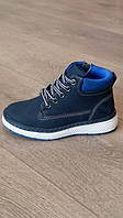 Ботинки демисезонные для мальчика, Clibee, синие, размер 29,30