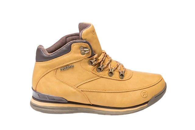 Зимние ботинки мужские Restime песочные, нубук, размеры в наличии ► [ 41 43 45 ]