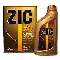 Масло моторное ZIC XQ 5W-40 4 л.