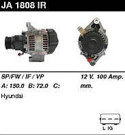 Генератор Hyundai Accent 2002- 100A