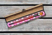 Кисточка для чистки пупка. Фетровые помпончики микс. (А00706), фото 1