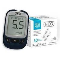 Глюкометр NEO + 50 тест-полосок NewMed  Акционный набор!