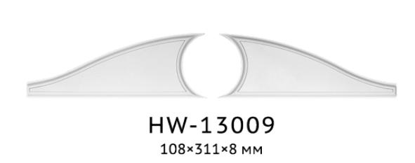 Декор. вставка Classic Home HW-13009L/R, лепной декор из полиуретана