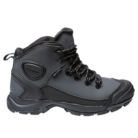 Ботинки мужские зимние Restime серые, нубук