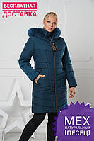 Зимняя женская куртка теплая Разные цвета