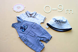 Детский комплект для мальчика BRUMS Италия 132BBEA005 Белый