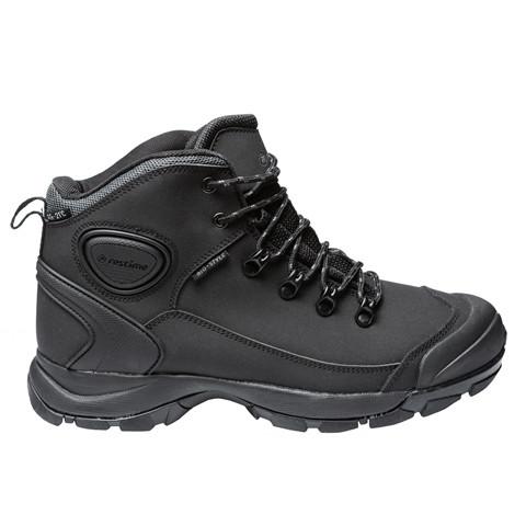 Зимние ботинки мужские Restime чёрные, нубук, размеры в наличии ► [ 41 42 43 44 45 ]