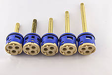Картриджи для смесителей душевых кабин, переключения на три ( 3 ) положения, Ø33 мм, фото 2