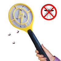 Электрическая мухобойка аккумуляторная Rechargeable Mosquito-hitting Swatter, фото 1