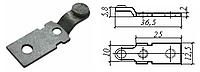 Контакт силовой неподвижный к пускателю электромагнитному ПМА-3 медь в гальванопокрытии