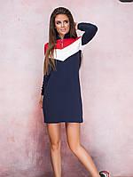 Спортивное платье женское Норма и батал до 52 размера