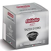 Кофе в капсулах Tazza D'ORO Dolce Gusto 16 cap. Carraro Caffe S.p.A Italia.