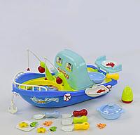 """Игровой набор 2 в 1 """"Кухня-Рыбалка"""" 889-95, свет, звук, на батарейках, 27 предметов"""
