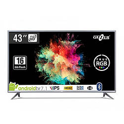 "Телевизор Gazer 43"" FullHD LED IPS ANDROID 7.1 TV43-FS2 27942"
