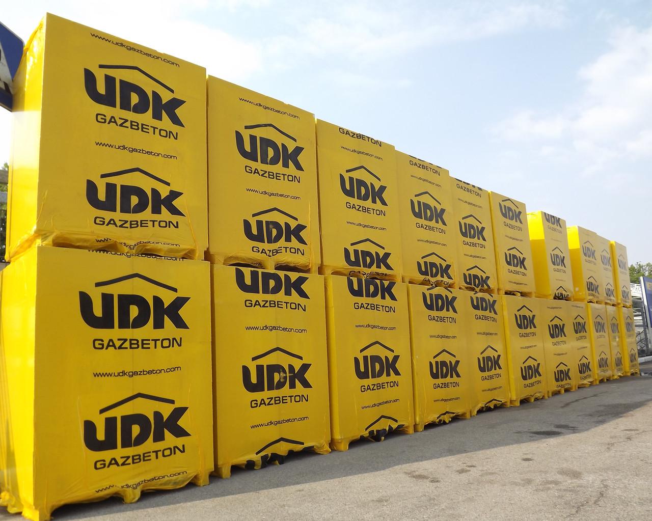 Блок газобетоный UDK 600Х200Х100 газоблок стіновий