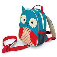 Рюкзак с ремешком безопасности Skip Hop Совёнок