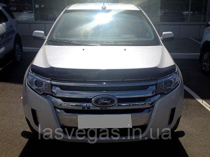 Мухобойка,дефлектор капота Ford Edge 2010-2015 (SIM)