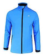 Спортивная куртка с мембраной и отражателями Radical Crag, с виндстоппером, голубая